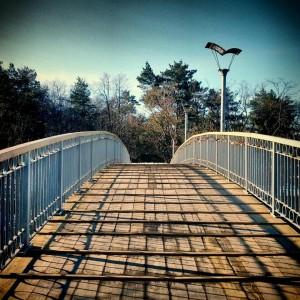 Міст Кохання в Ювілейному парку. фото foursquare.com