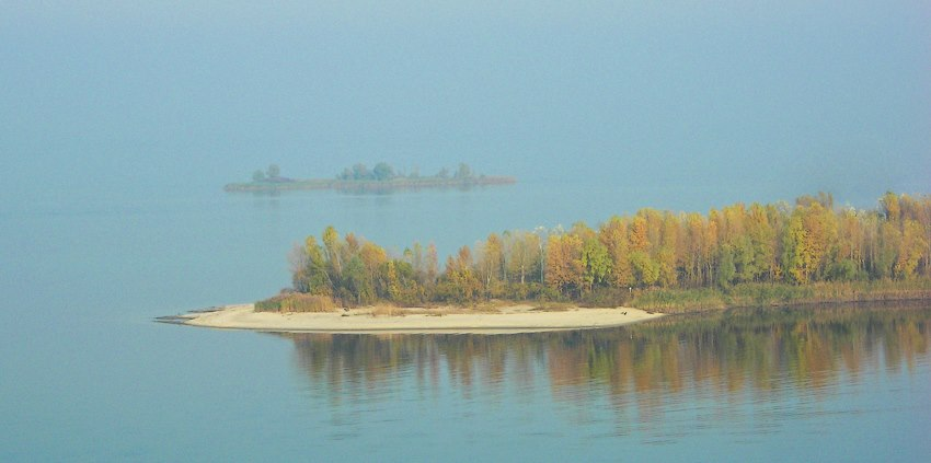Острови на Дніпрі. Фото Максима Луценка