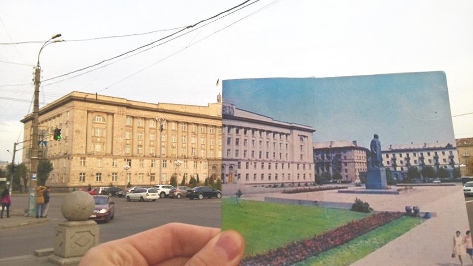Черкаська ОДА (тоді - будівля обкому партії)