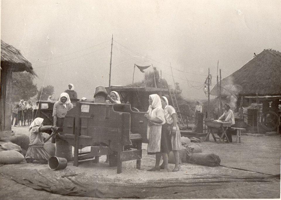На току. с. Тарасівка, 1930-ті роки.